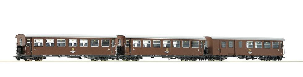 """Roco 34030, Set HOe de 3 piezas """"Ötscherbär""""."""
