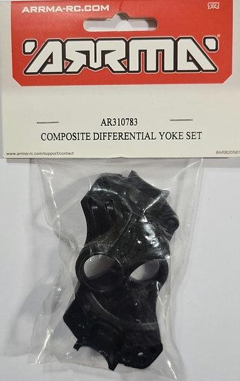 Arrma AR310783, Composite diferencial yoke set