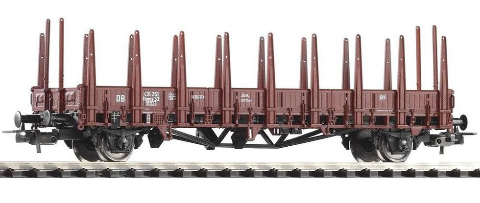Piko 54460, vagón plano con estacas, DB, época III