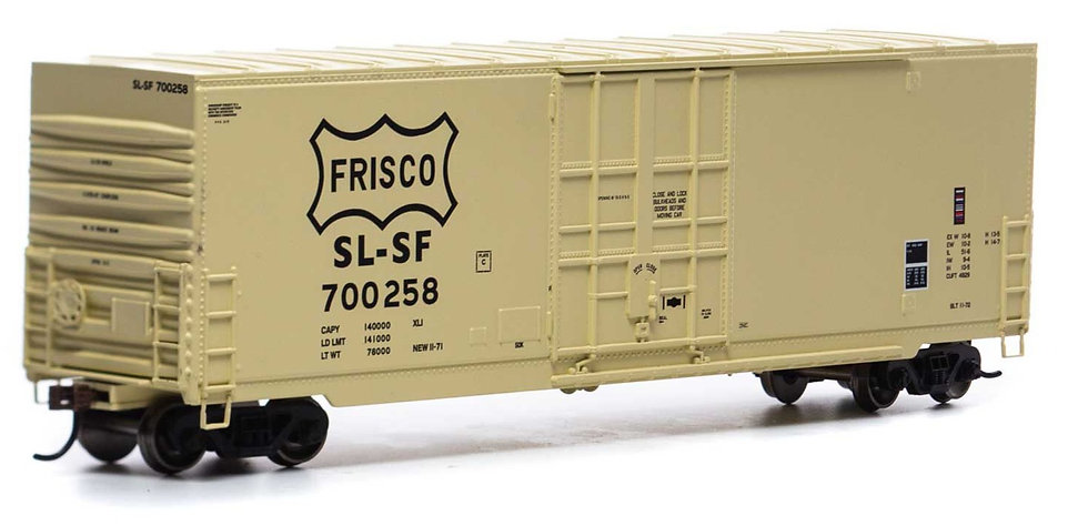 Athearn RND1678, 50' Smooth High Cube Plug Door Box, SLSF #700258