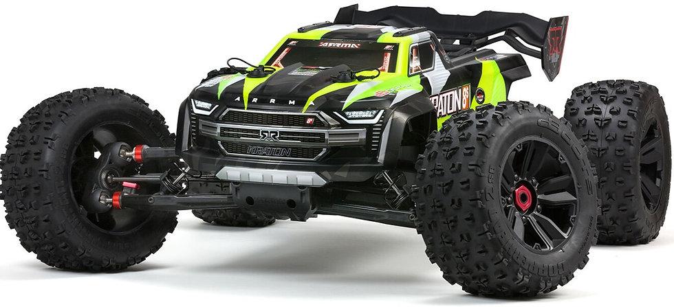 ARA110002T1, 1/5 KRATON 4X4 8S BLX Brushless Speed Monster Truck RTR verde