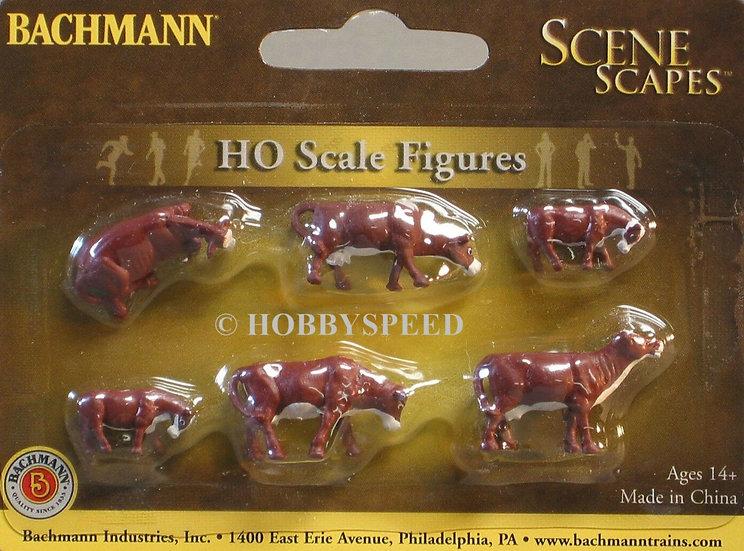 SceneScapes 33102, Vacas HO café