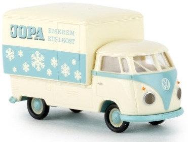 Brekina 32454, VW T1b Großraum-Koffer, Jopa Eiskrem, 1960