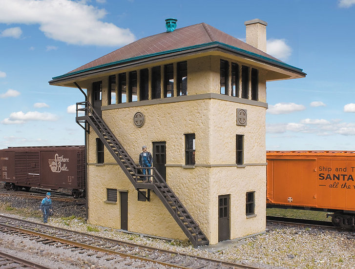 Walthers 2983, Santa Fe Railroad casa de señales