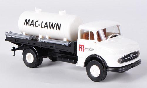 Brekina 47018, Mercedes L 322, Mac Lawn Spray, plataforma con tanque