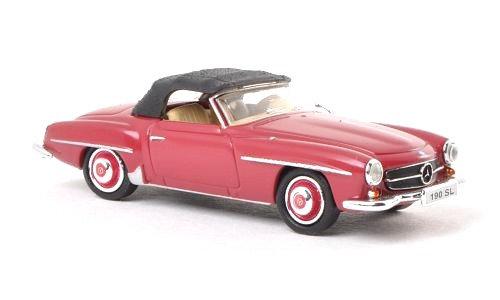 Brekina Rik38493, Mercedes 190 SL (W121 BII), rojo