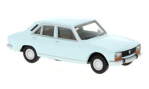 Brekina 29117, Peugeot 504, celeste