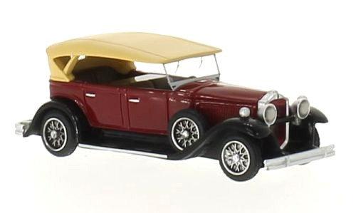 BOS 87155, Packard 733 Straight 8 Sport Phaeton, dunkelrot/schwarz, 1930