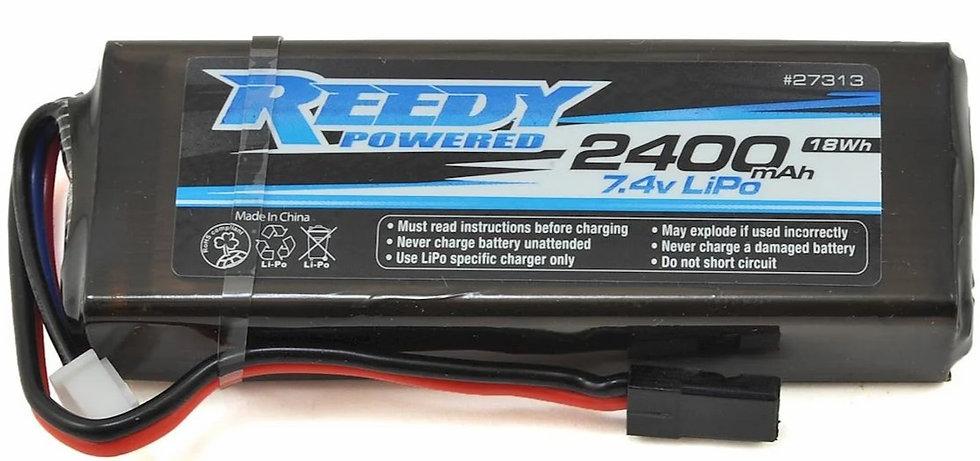 Reedy ASC27313, 2S Flat LiPo Receiver Battery Pack (7.4V/2400mAh)