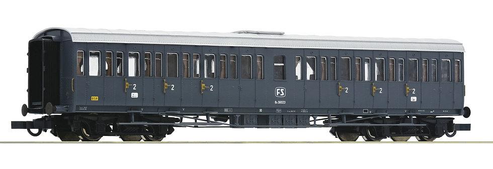 Roco 64983, Coche 2° clase  italiano, FS, época IV