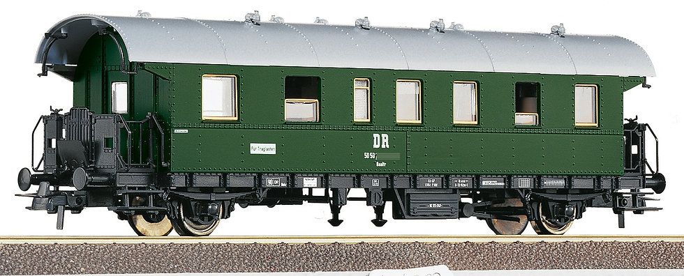 Roco 54202, Coche Donnerbüchse 2° clase, DR. Época IV.