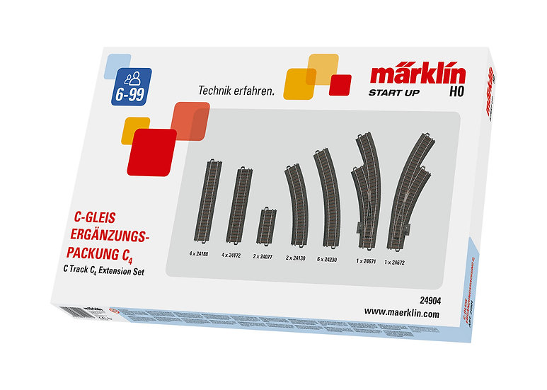 Marklin 24904, Set de extensión C4