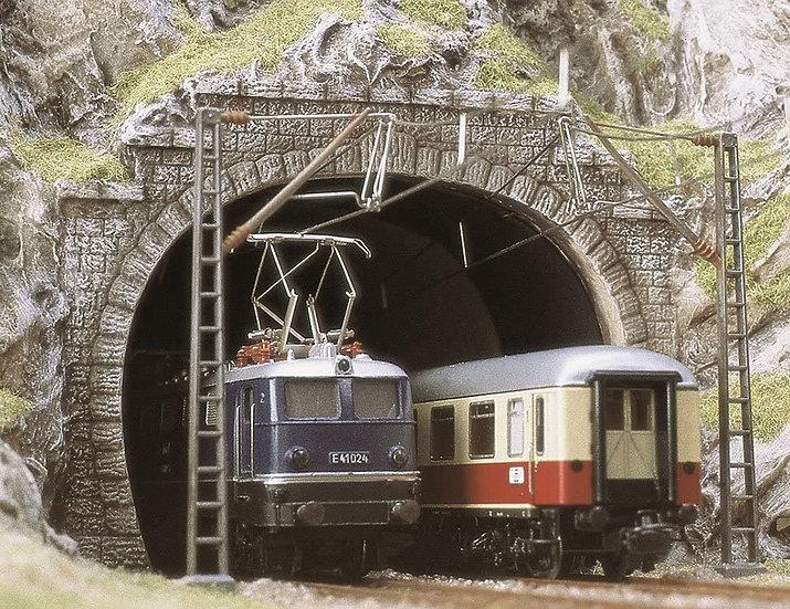 Busch 7027, Portal de túnel doble vía HO