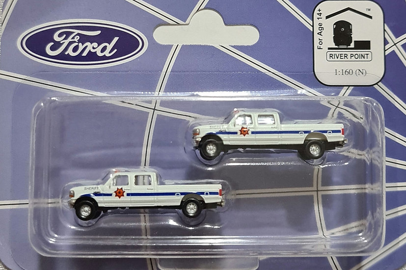 River Point Minis, Pack de 2  camionetas 1992 Ford F
