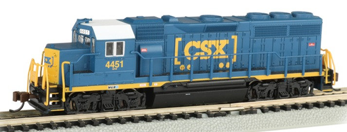 Bachmann 63560, EMD GP40 DC CSX