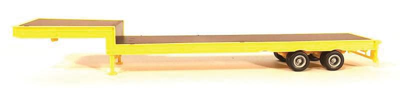 Herpa Promotex 5483, Trailer plano con rampas