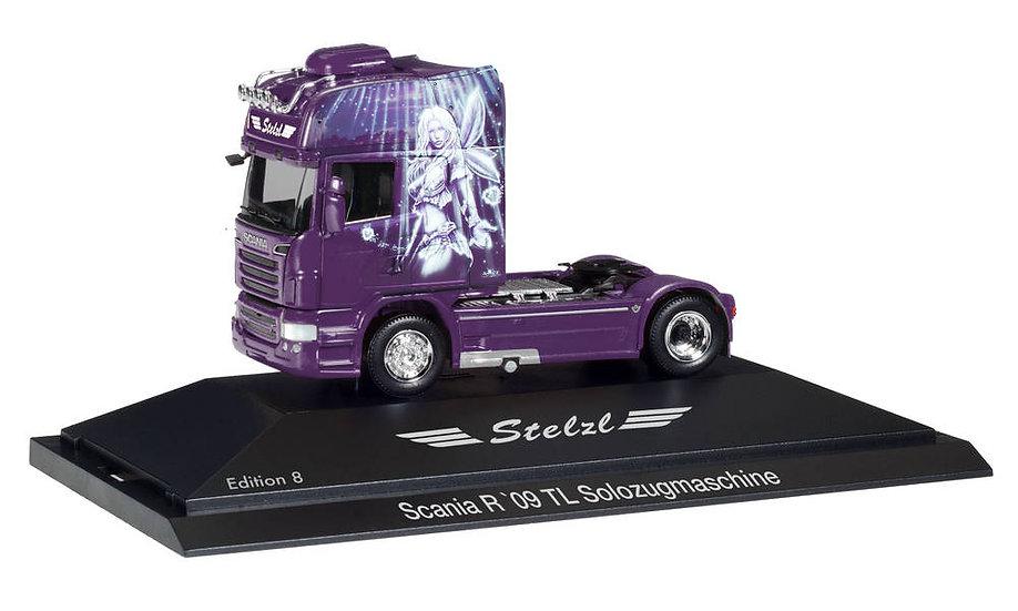 "Herpa  110921,   Scania R TL ""Stelzl, Edition 8"""