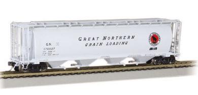 Bachmann Silver 19111, Hopper de grano,Great Northern