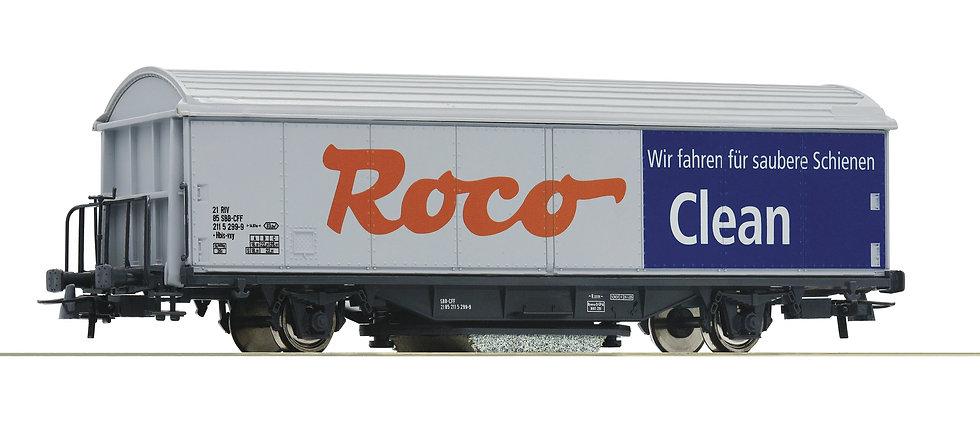 Roco 46400, vagón limpiavías HO