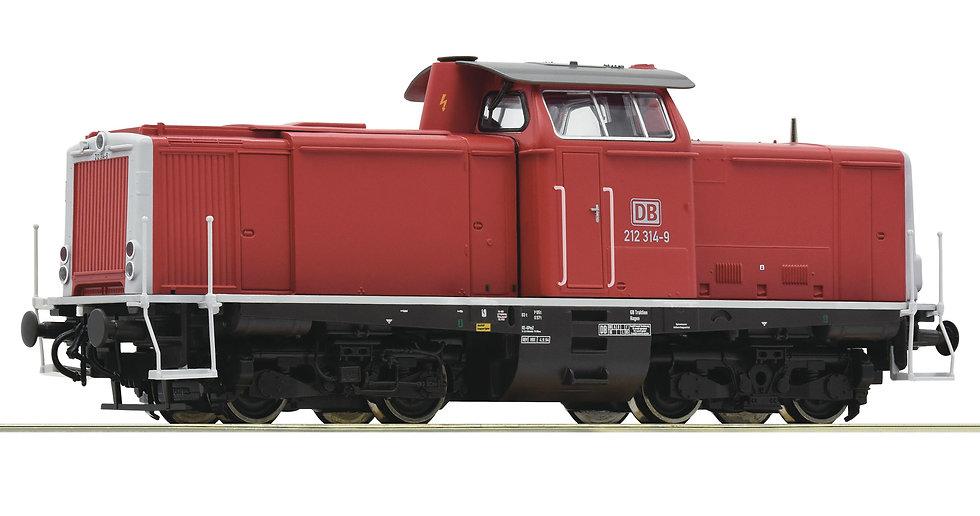 Roco 52525, Locomotora diésel BR 212, DB AG, Ép V [Con Sonido]
