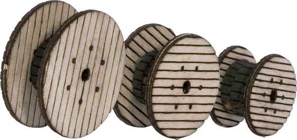 Walthers 4155, Carretes para cable Lasercut (HO)