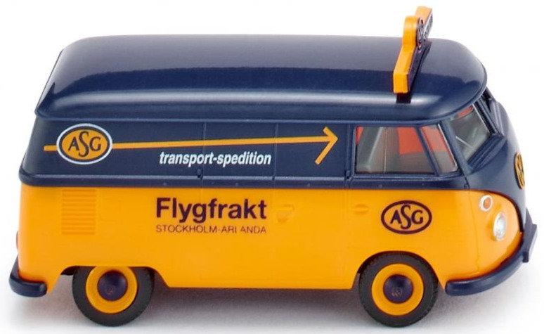 """Wiking 079713, VW T1 box van """"ASG"""""""