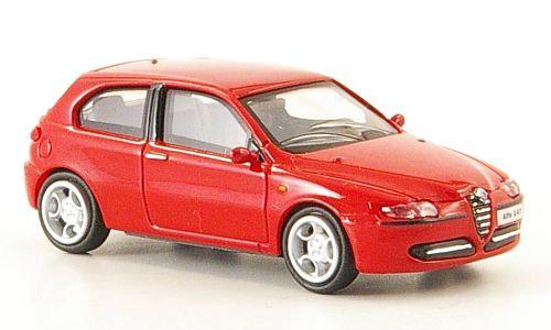 Brekina Rik38311, Alfa Romeo 147, rojo, 2001