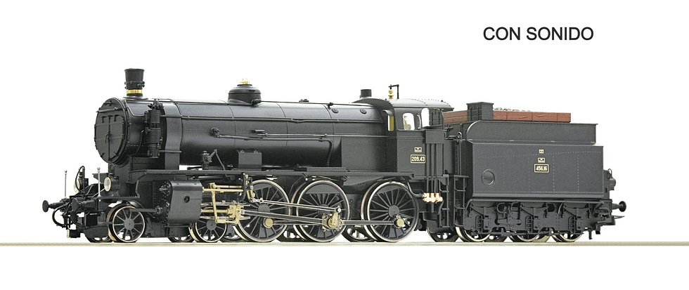 Roco 72109, Locomotora de vapor clase 209, BBÖ [DCC + SONIDO]