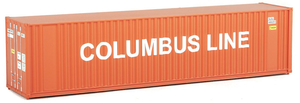 Walthers, Container COLUMBUS LINE