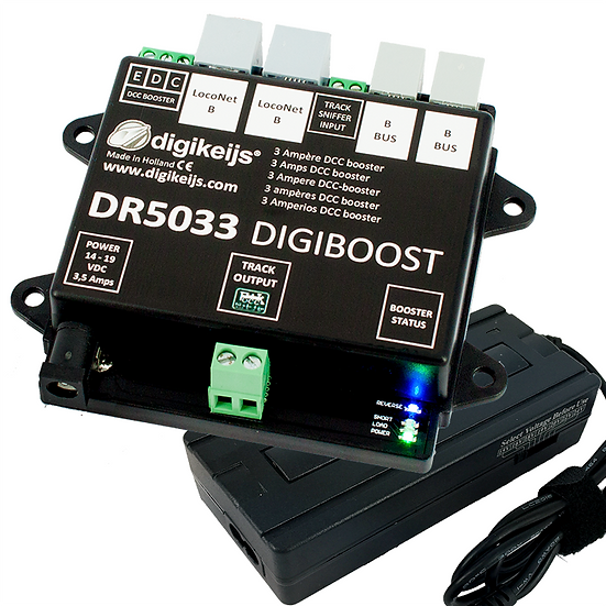 Digikeijs DR5033, Booster DCC 3 Amps