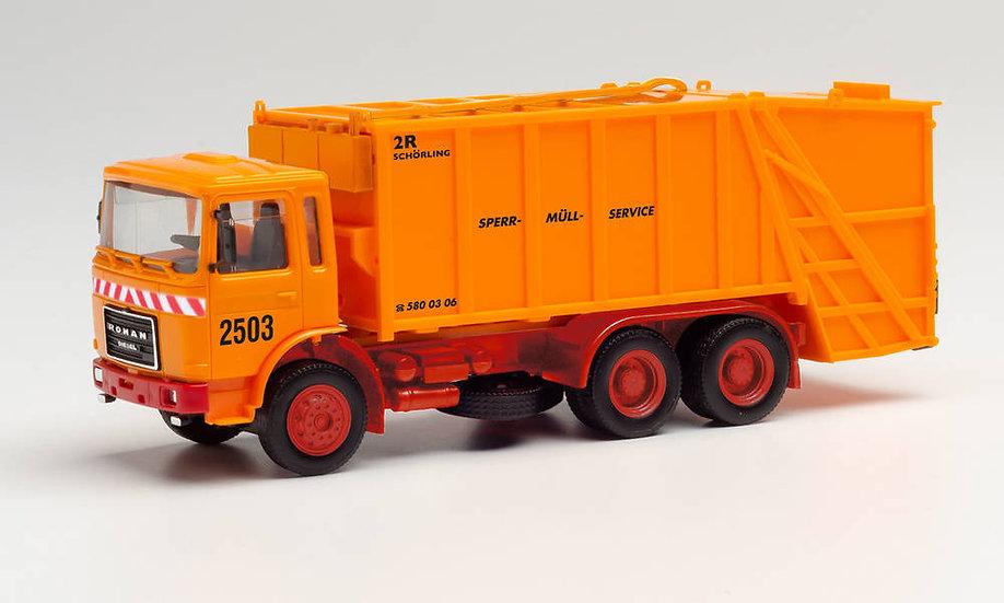 Herpa 311946, Roman Diesel  camión recolector comunal