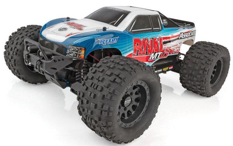 Team Associated ASC20516, 1/10 Rival MT10 4WD Monster Truck Brushless RTR