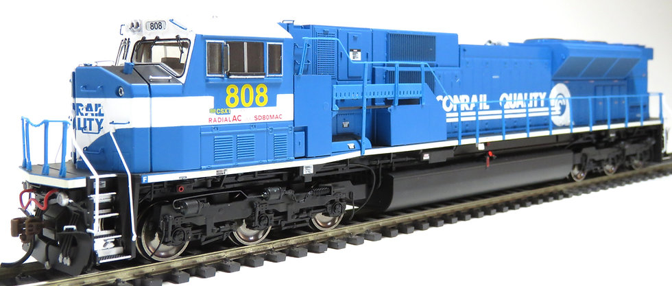 ATHEARN GENESIS ATHG27245, Locomotora SD80MAC, CSXT #808
