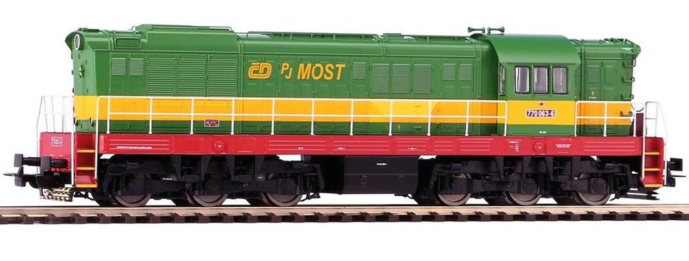 PIKO 59787, Locomotora diésel T669 CD PJMost, época V