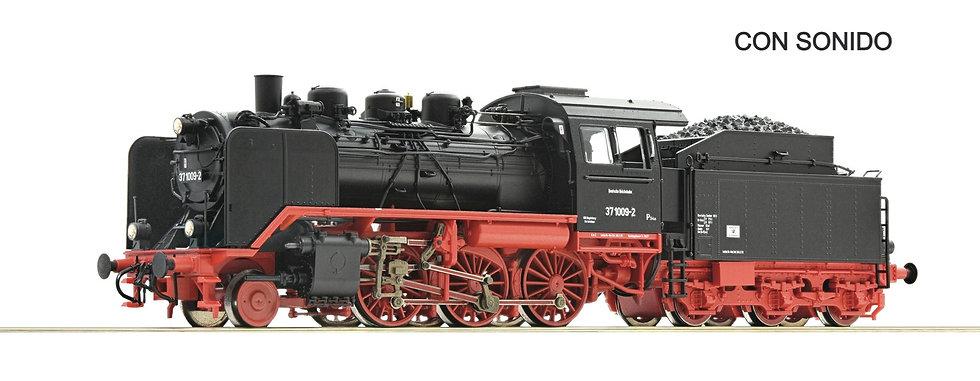 Roco 71212, Locomotora de vapor 37 1009-2, DR [DCC CON SONIDO]