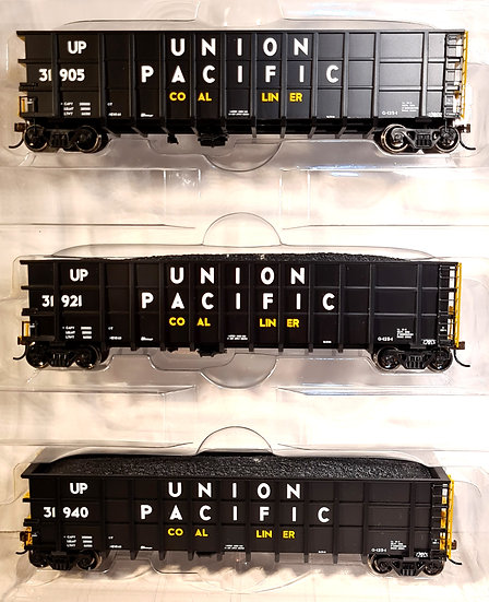 Athearn 27148, Thrall High Side Gondola Union Pacific Pack x3