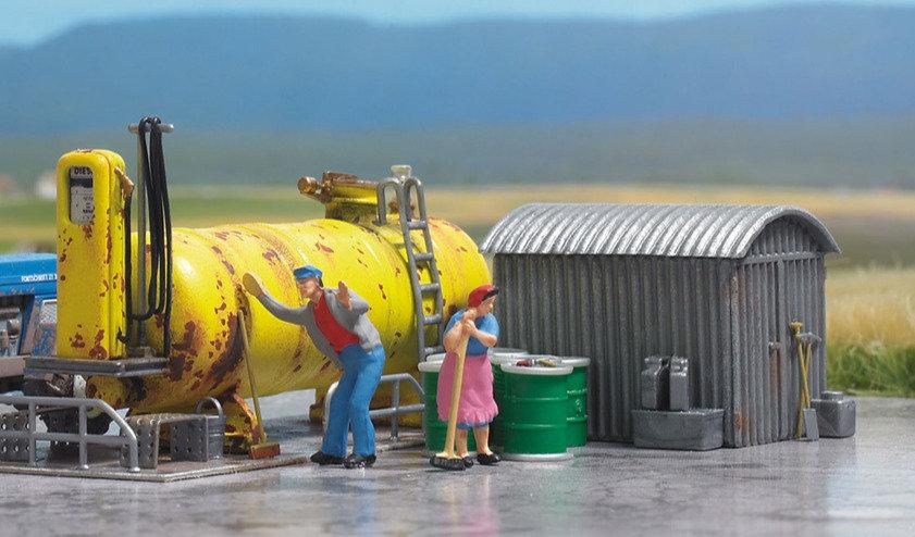 Busch 1413,  Estación de combustible de locomotoras diésel