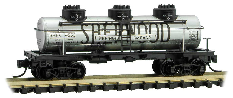 Micro Trains Line 6600100, Carro cisterna Sherwood Refining Company 39'