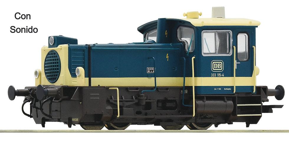 Roco 72020. Locomotora diésel clase 333,  DB, Ép IV [Con Sonido]