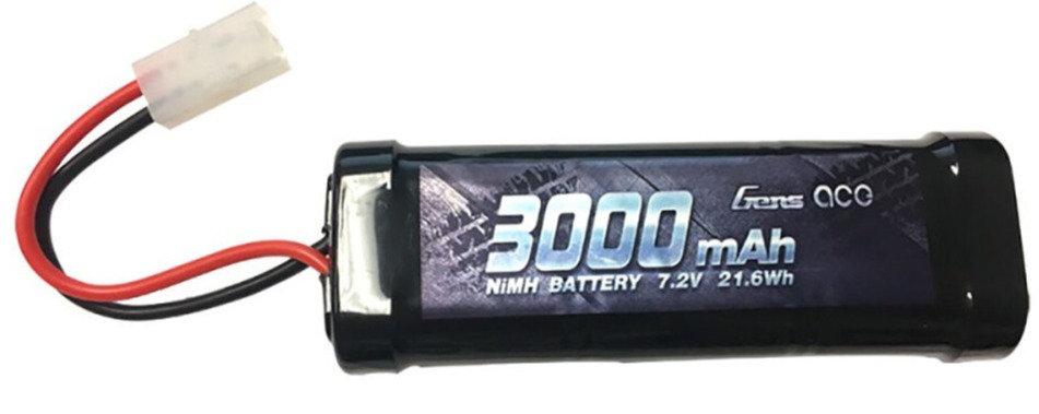 GEANM30006ST, 7,2V 3000mAh NiMH: conector TAMIYA