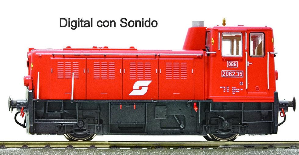 Roco 72001, Locomotora diésel serie 2062, ÖBB