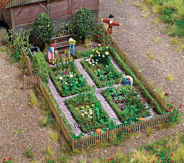 Walthers 1110, Jardín de vegetales