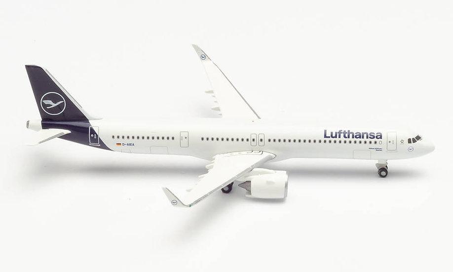Herpa 534376, LUFTHANSA AIRBUS A321 NEO (1:500)
