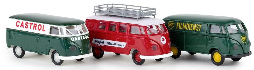 BREKINA 90473, Pack VW - Castrol - Mobil - BP