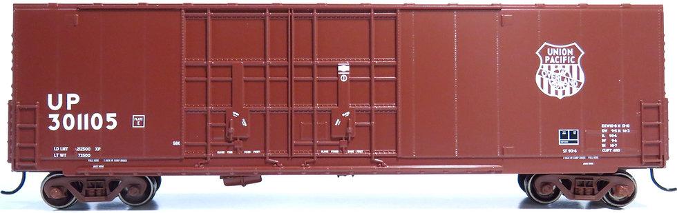 Athearn RND88093, 50' High Cube DD Plug Box, UP/Overland #301105