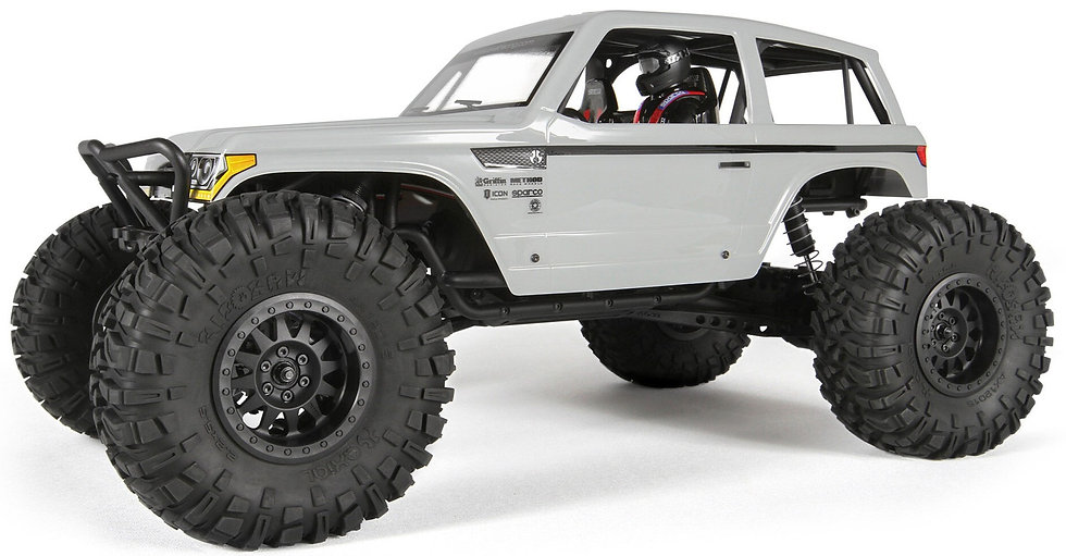 AXID9045, 1/10 Wraith Spawn 4WD Rock Racer Brushed RTR