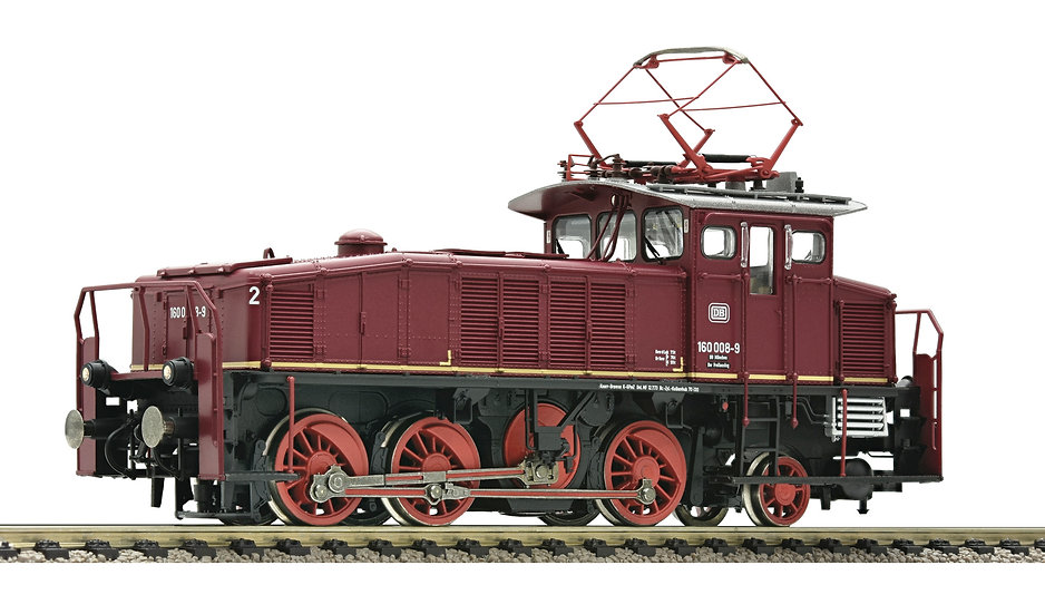 FLEISCHMANN 436003. Locomotora BR160 DB, época IV.