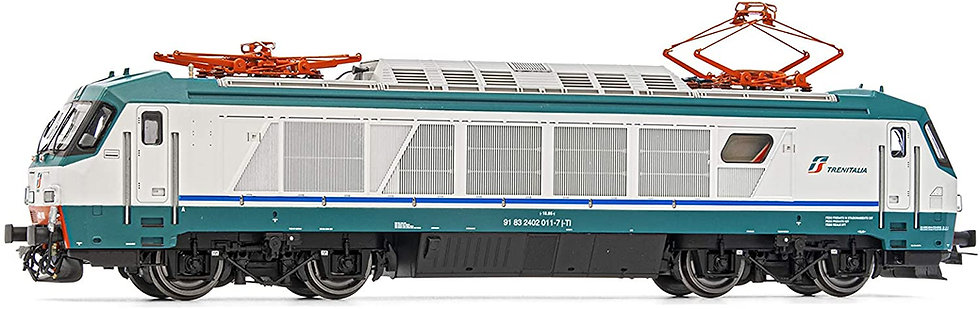 Rivarossi HR2766D, Locomotora eléctrica E 402A XMPR, FS, época VI DIGITAL