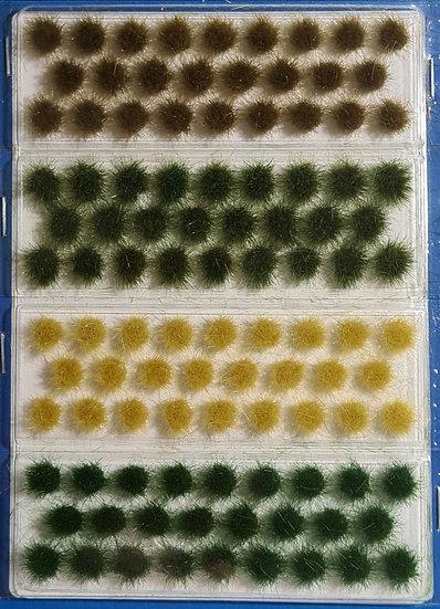 """Scene Master 1137, Pack de 104 """"Grass Tufts"""", alto 0,6 cm"""