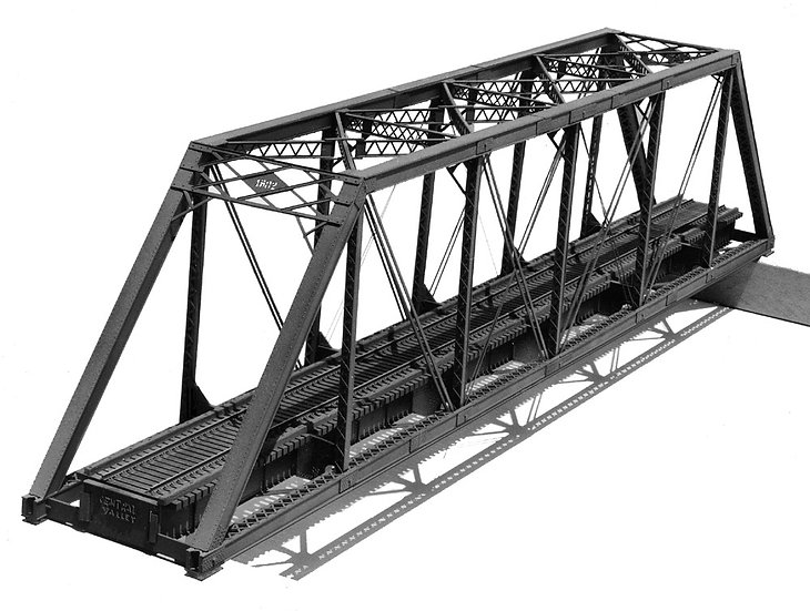 Central Valley 1902, Pratt Truss Bridge 150'